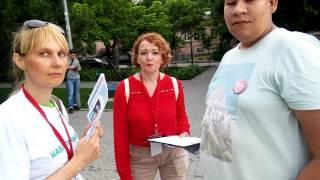 Навальный агитирует в Ростове-на-Дону!