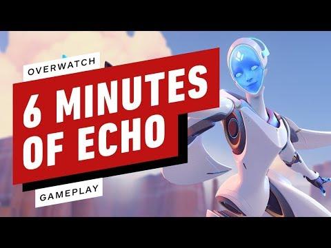 Download 6 Minutes of Overwatch Echo Gameplay