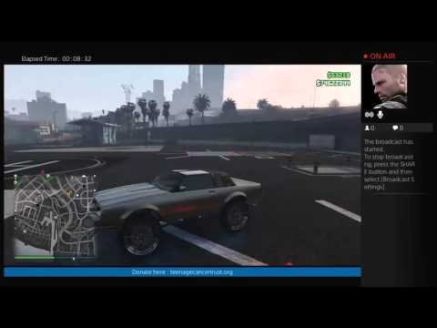 GTA 5 Teenage Canser Trust Support