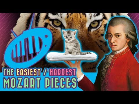 The Easiest Mozart Pieces (and the Most Difficult)