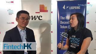 Daniel Wang Founder of Loopring has big news at HKFinTechWeek.