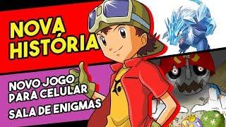 Nova história de Digimon Frontier, Novo jogo e Sala de enigmas