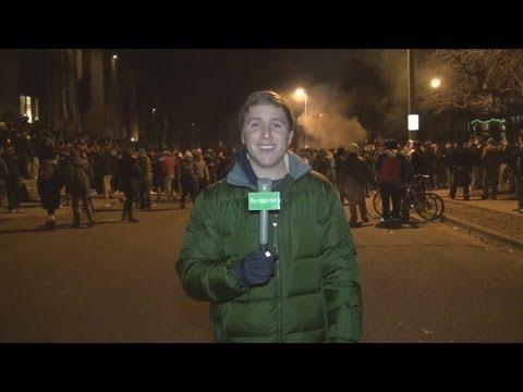 MSU Cedar Village Riots 2013