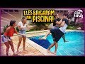 ELES BRIGARAM E CAÍRAM NA PISCINA CASA DE FÉRIAS 45 REZENDE EVIL mp3