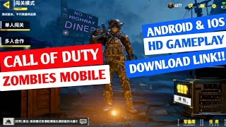 Call Of Duty Zombies Mobile for Android and IOS Gameplay, Download Link