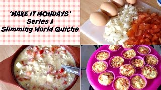 Syn Free Quiche | Slimming World | Make It Mondays