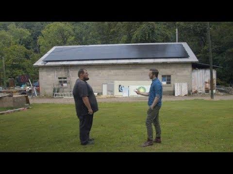 Company trains coal miners to install solar