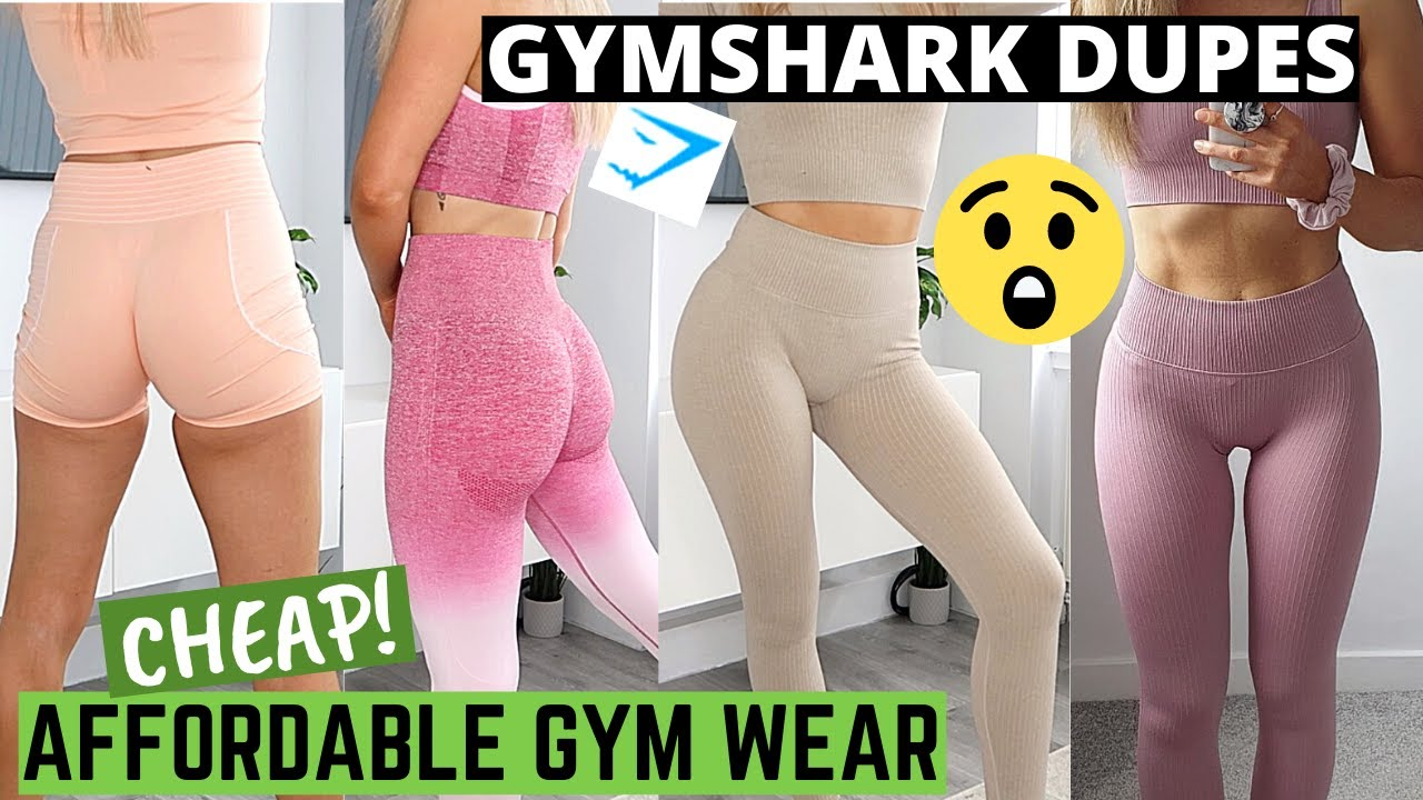 AFFORDABLE GYM WEAR TRY ON HAUL | GYMSHARK LEGGINGS DUPES? | Activewear Try On Haul Review | Gymwear