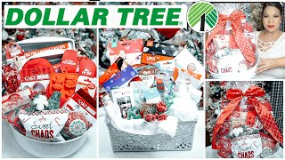 DOLLAR TREE CHRISTMAS GIFT BASKETS | UNIQUE DOLLAR STORE $1 GIFT IDEAS 2019