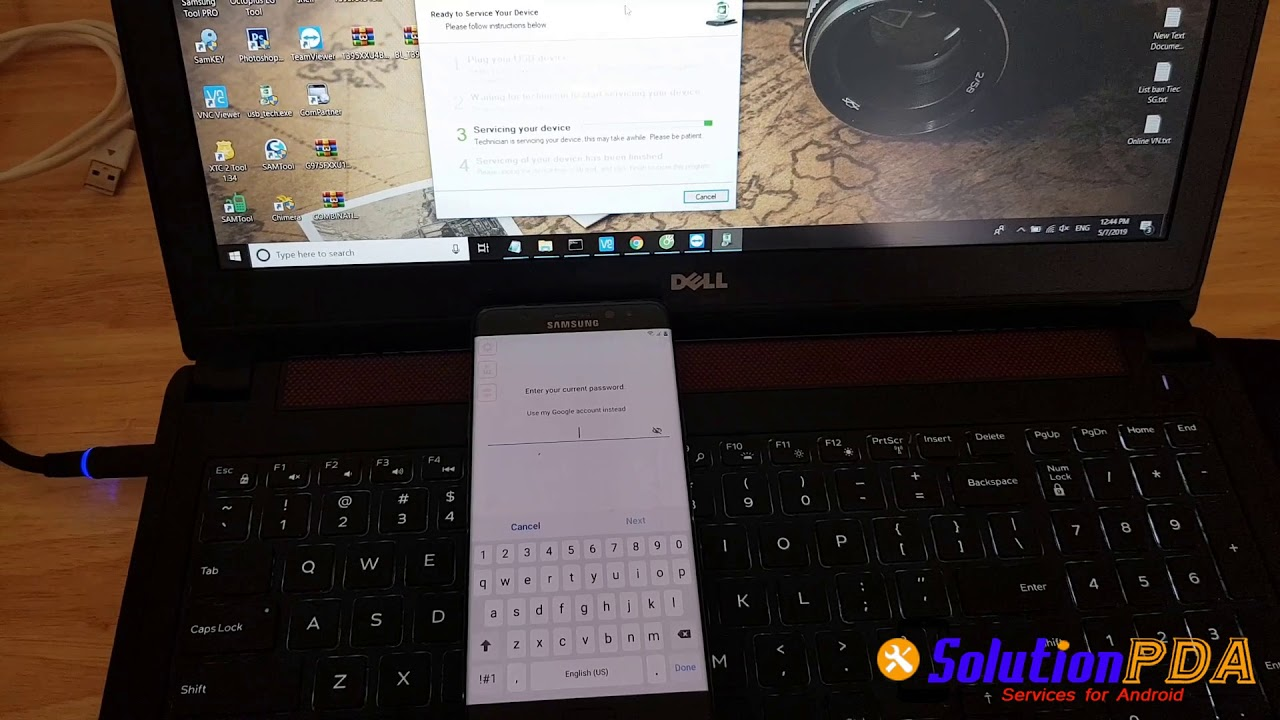 Remove Unlock Google FRP Lock Samsung Note Fan Edition N935F N935S Android  9 0 Last Version