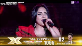 X-Factor4 Armenia-Gala Show 8-Inna Sayadyan-I surrender 09.04.2017
