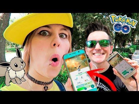 CAPTURANDO EEVEE SHINY EN EL COMMUNITY DAY | POKÉMON GO!