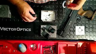 Vector Optics Sphinx Red Dot Unboxing & Review 11mm Dovetail 21mm Weaver 13mm Dovetail HW45 HW75