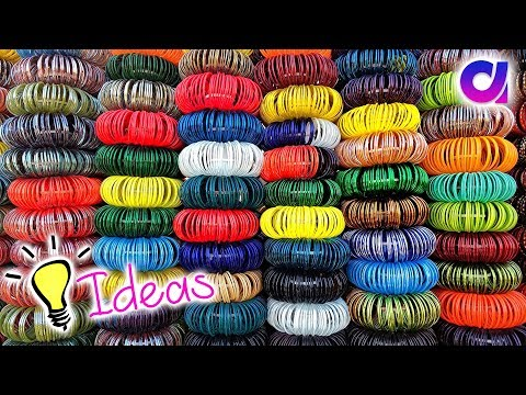 how to reuse waste bangles | waste bangles craft ideas | Best out of waste | Artkala 301.