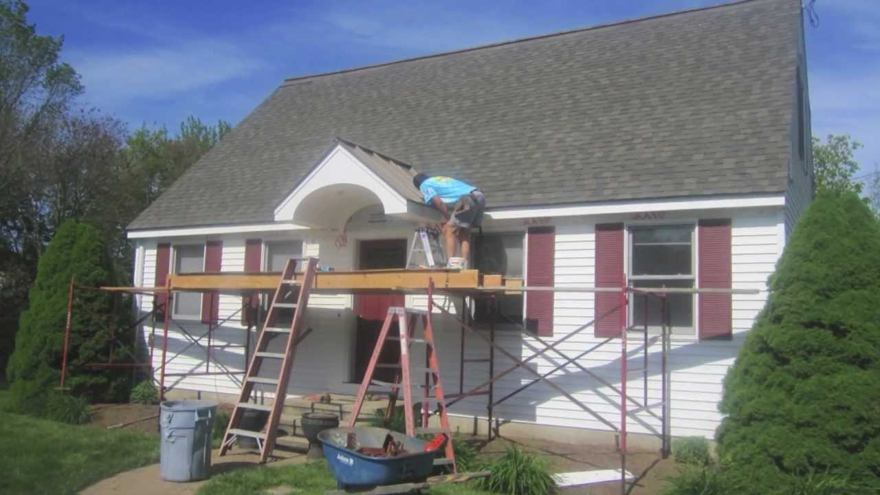 Adding Porch Existing Roof