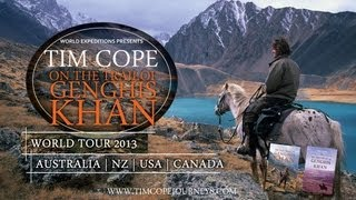 Tim Cope Book Release and World Tour - 'On the Trail of Genghis Khan'