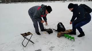 Рыбалка на озере Киово г. Лобня