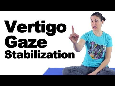 Vertigo Treatment Gaze Stabilization Exercises Ask Doctor Jo Youtube