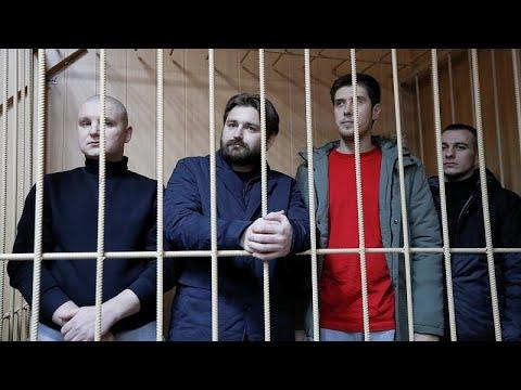 Prisão preventiva para oito marinheiros ucranianos