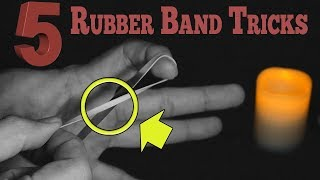 5 Easy rubber band tricks - Classic and top notch tricks revealed