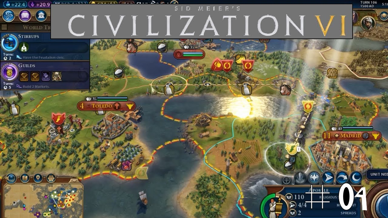 Civilization 6: Episode 4: Religious Wars