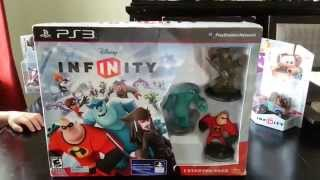 Disney Infinity Starter Pack PS3 Unboxing