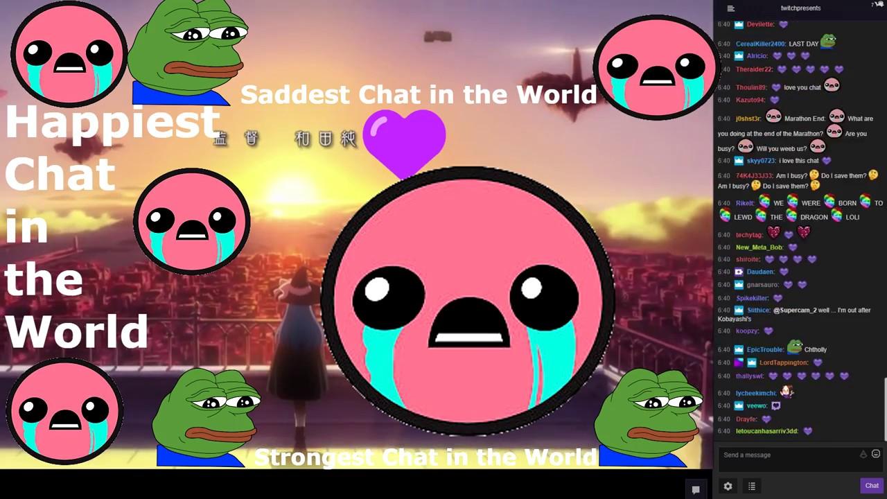 Twitch Anime Marathon: Marathon End With Twitch Chat [Edit]