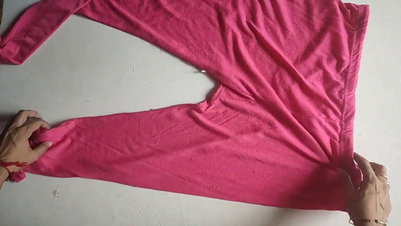 पुरानी लैगिंग और टीशर्ट से बनाए बहुत ही मुलयम और मार्किट जैसा पायदन // Paydan // Perdan // Doormat
