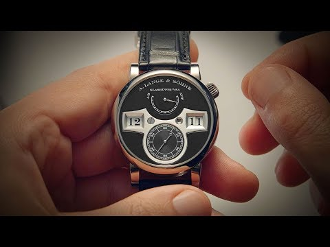 The Mechanical Digital Wristwatch - A. Lange & Söhne Zeitwerk | Watchfinder & Co.