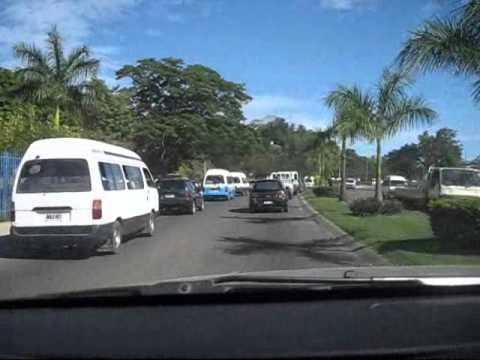 Drive through Honiara - Solomon Islands