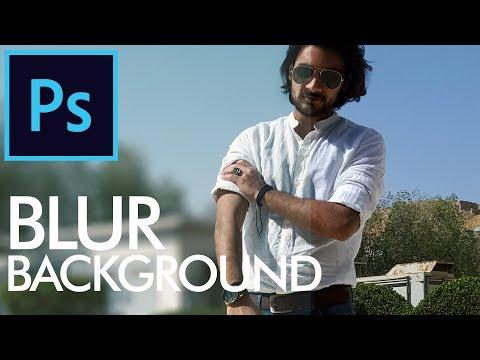 How to Blur Background in Adobe Photoshop - Urdu / Hindi thumbnail