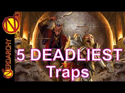 5 Deadliest and Devious D&D Traps  Game Master TIps