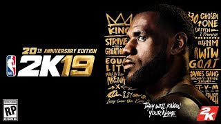 NBA 2K19 - How Could They Have Known? Lebron James Cover!
