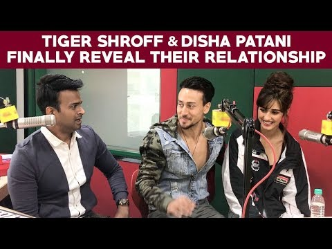 Tiger Shroff and Disha Patani finally reveal their relationship!