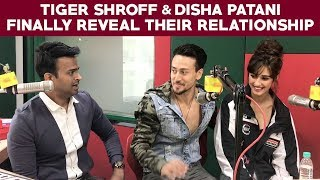 Tiger Shroff and Disha Patani finally reveal th...