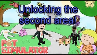 Roblox Pet Simulator: New area unlocked!