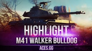 M41 Walker Bulldog - боевой пёс в World of Tanks