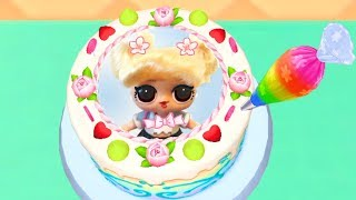 Play Fun Learn Cake Cooking & Colors  with LOL Dolls Surprise - My Bakery Empire - Games For Kids