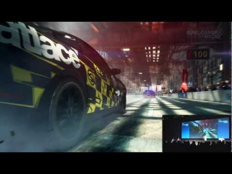 Eurogamer Expo 2012: GRID 2: Total Race Day Immersion