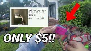 He Said HELL NO To My Offer at a COMMUNITY GARAGE SALE!!! ($1 Million+ Golf Course Homes!!)