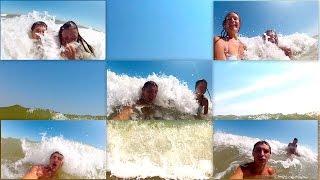 Волны на море! Нарезка эпичных моментов! Было круто :)))(ВОЛНЫ НА МОРЕ! Всем Привет! Ребят, это наше новое видео с летнего отдыха. В июле и августе мы были на море,..., 2014-12-08T19:06:31.000Z)