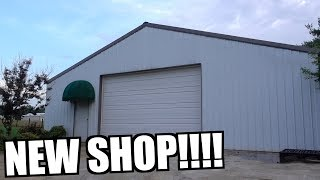 NEW SHOP TOUR!!!! IT'S AWESOME!!!!