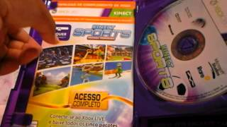 Unboxing do kinect sports ultimate collection