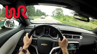 2014 Chevrolet Camaro SS Convertible Spring Edition - WR TV POV Test Drive