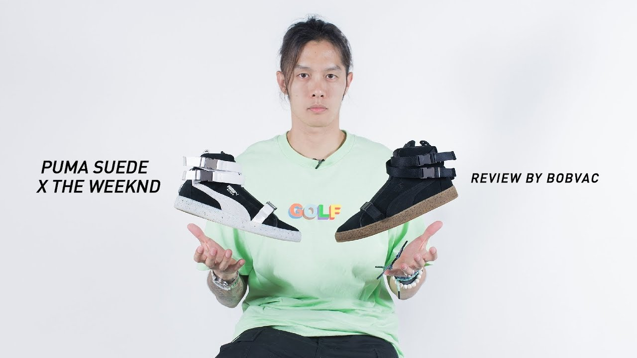 quality design 3abac 2b8c1 Puma Suede Classic x The Weeknd [Review](Thai)