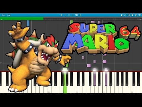 Final Bowser - Super Mario 64 (Piano Cover) [Synthesia]