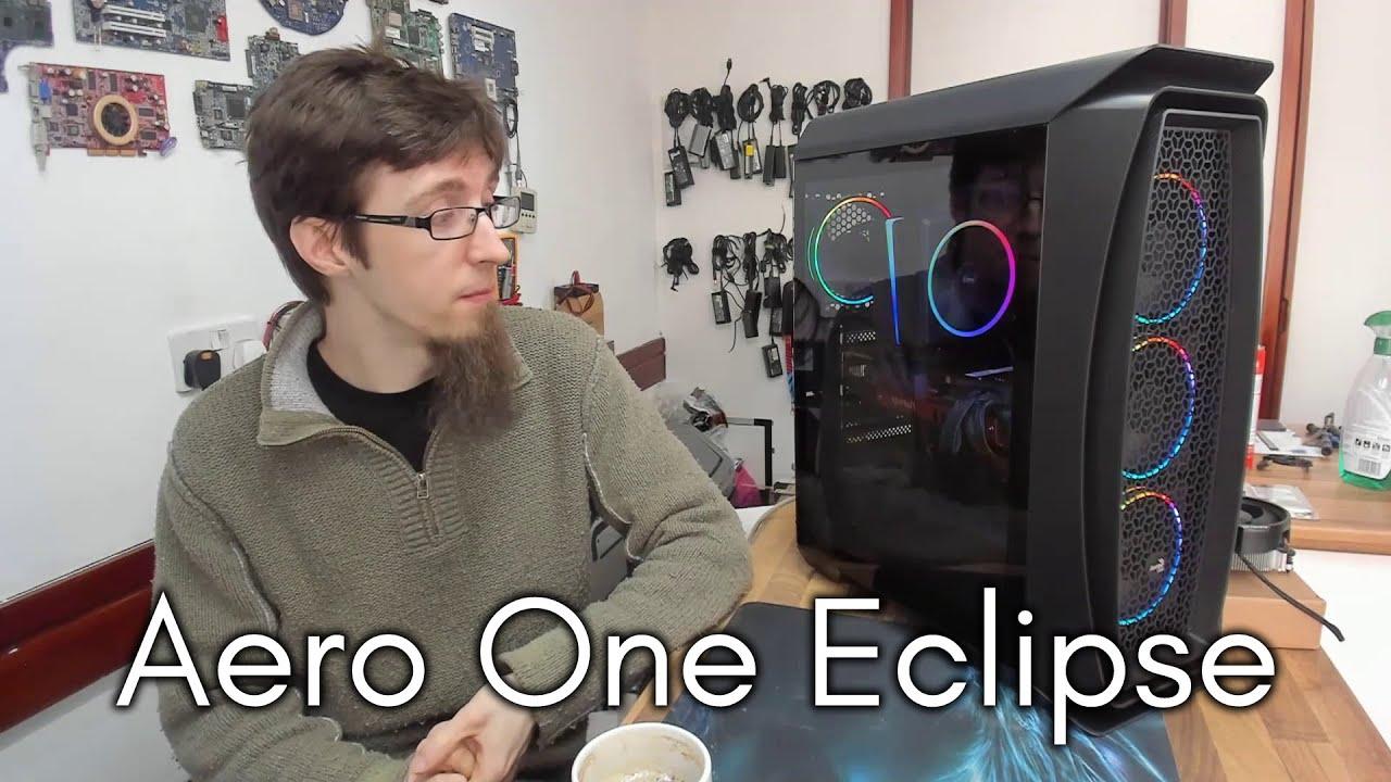 White Aerocool Aero One Mini Eclipse ARGB Mini Tower CASE