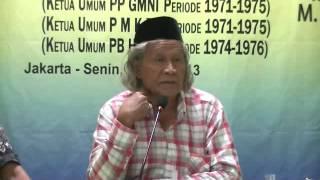 Mantan Ketua PB HMI Ridwan Saidi mengkritik sistem pemerintahan SBY