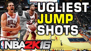 NBA 2K16 Ugliest Jump Shots
