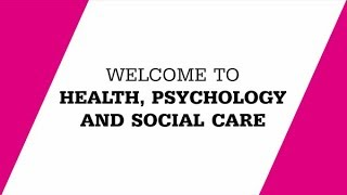 Faculty of Health, Psychology and Social Care
